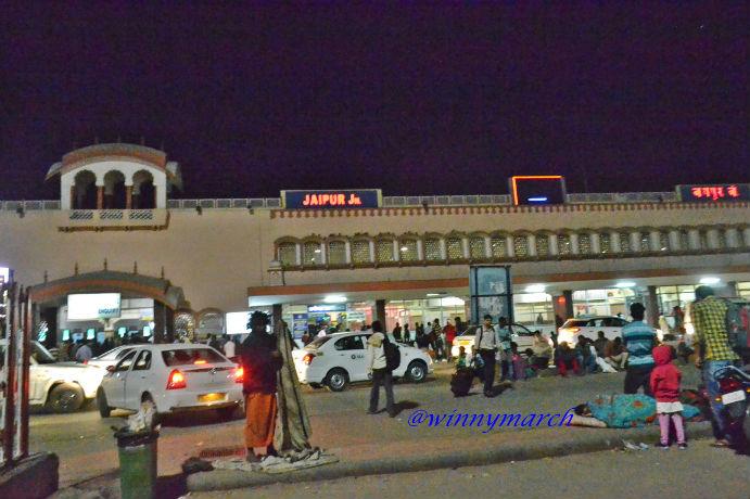 Jaipur Railway stastion