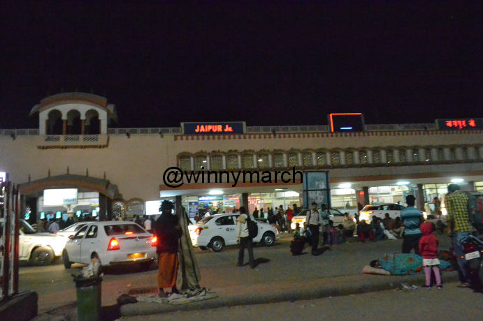 Jaipur train station