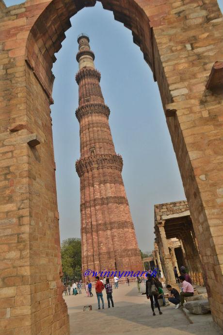 Qutub Minar New Delhi India