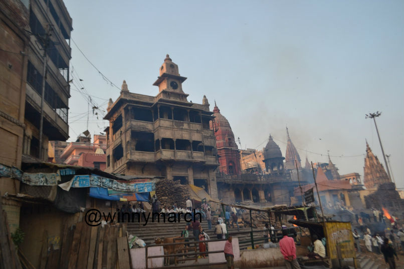 Pembakaran di Sungai Gangga