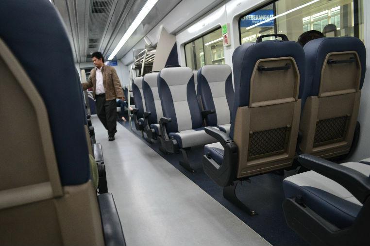 Kereta Bandara Kuala Namu Medan