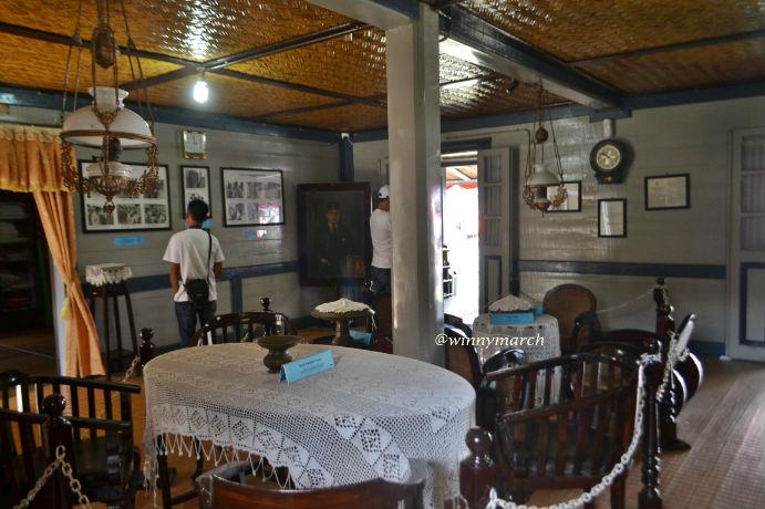Ruang Tamu di Rumah Kelahiran Bung Hatta Bukittinggi