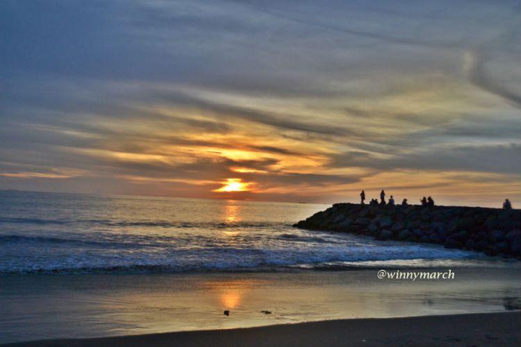 Sunset di Pantai Padang Taplau