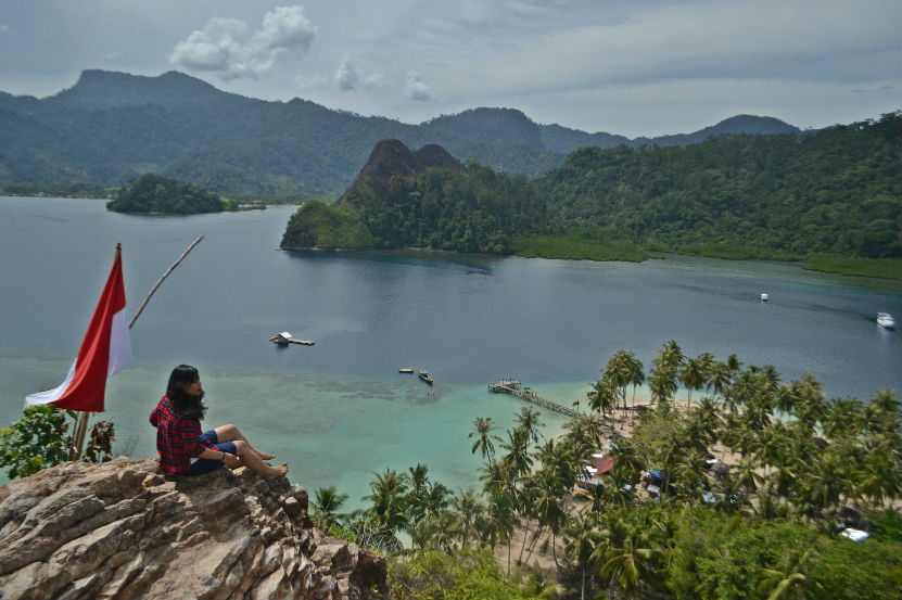 Pulau Pasumpahan Padang Sumbar