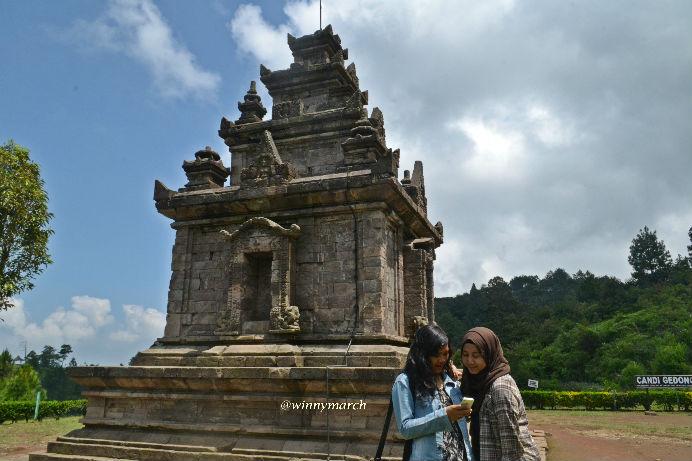 Candi Gedong Songo Jawa Tengah'