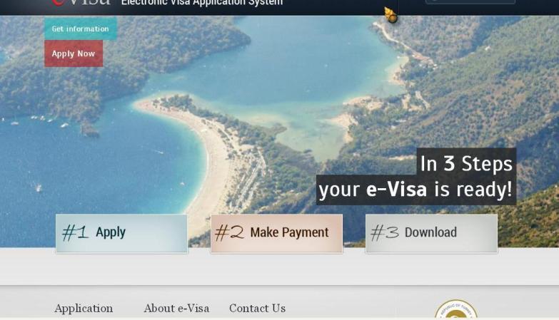 Langkah Membuat E-Visa Turkey