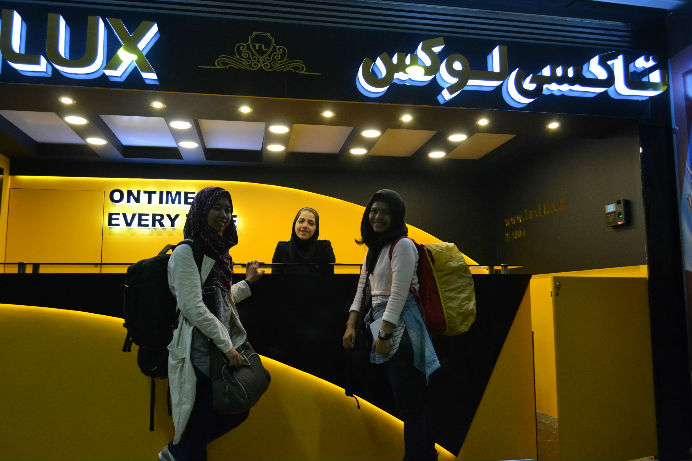 Aku dan Mbak Ninik di Bandara Tehran