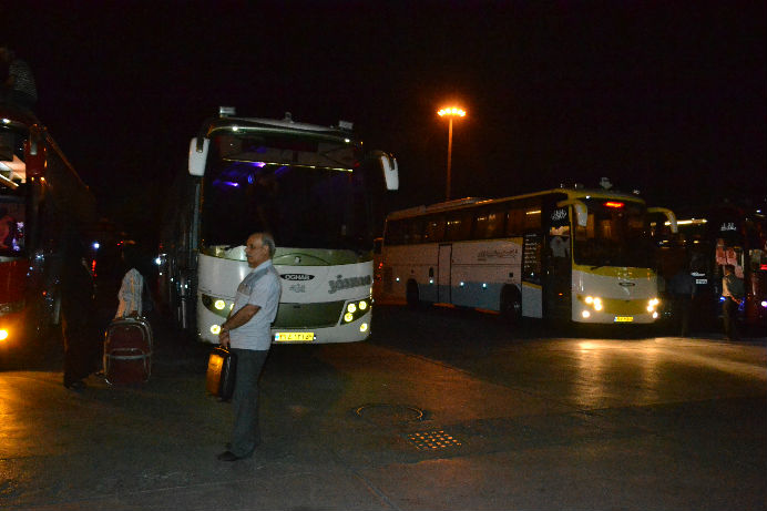Terminal Bus di Tehran