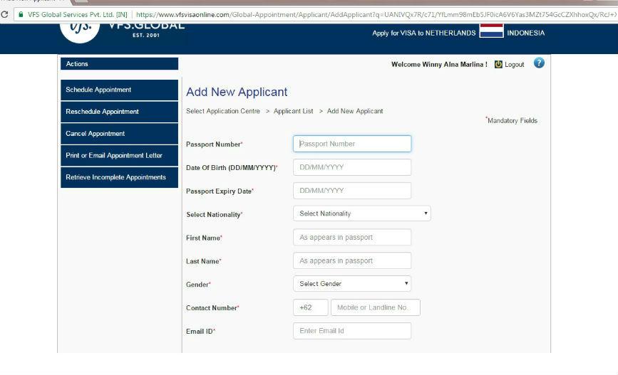 Mengurus Visa Eropa Di Kedubes Belanda Via Vfs Jakarta