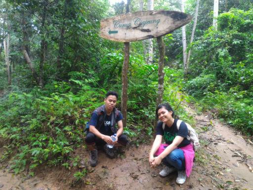 Jalan ke Curug Kembar dan Ciajeung Banten