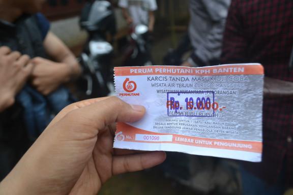Tiket Masuk ke Curug