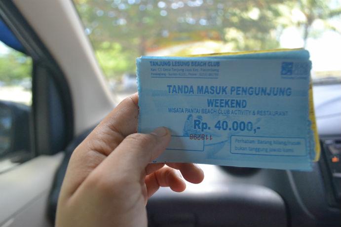 Tiket Tanjung Lesung