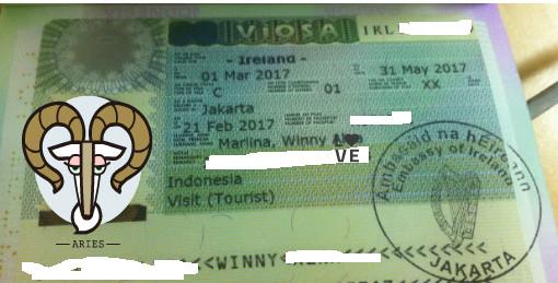 Visa Irlandia
