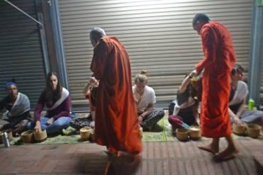 Binthabhat (Morning Alms Giving Ceremony)