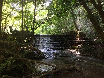 Ampang fall upper section