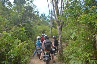 On our way to lubu batang di kapur ix