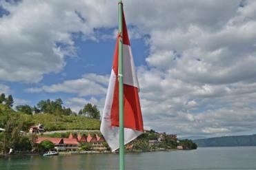 Kapal ke Danau Toba