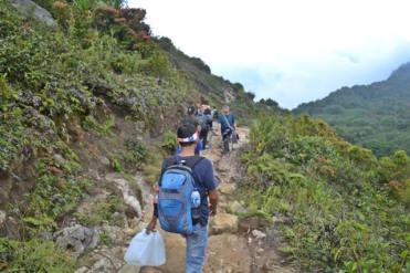Treking ke Sibayak