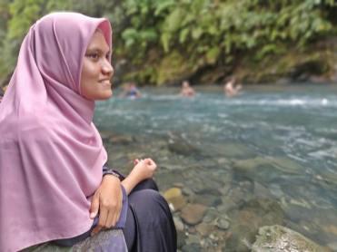 Tio di Sungai Batu Busuk